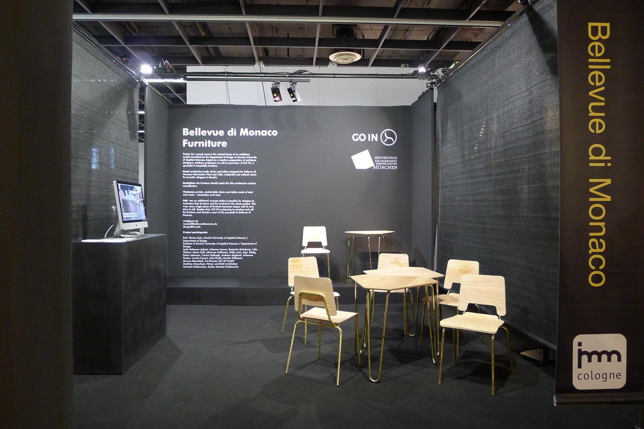 Die Bellevue Café Möbel Auf Der Internationalen Möbelmesse In Köln