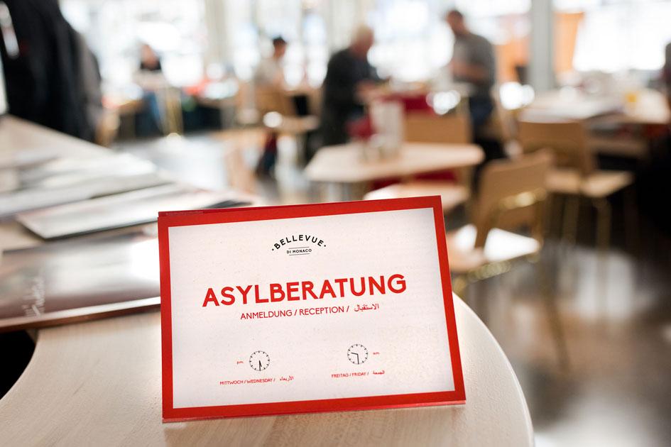 Bellevue München | CAFÉ-RESTAURANT-ASYLBERATUNG